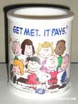 Peanuts Gang Can Cooler