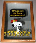 Snoopy signing autographs for Woodstocks 'It's great to be a superstar' Mirror