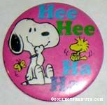 Snoopy and Woodstock Laughing Mirror