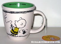 Charlie Brown with Kite 'Take a little time to unwind' Mug