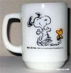 Peanuts & Snoopy Anchor Hocking & Fire-King Mugs