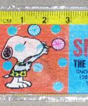 Snoopy in multiple poses Holograms Ruler