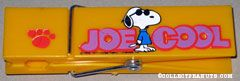 Joe Cool in front of name Orange Over-sized Paperclip