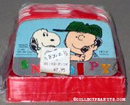 Snoopy & Chalie Brown on Phone Rolodex