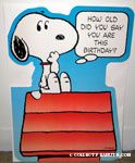Peanuts & Snoopy Over-sized Cards