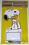 Snoopy hugging Woodstock Wood n' Wipe Offs Memo Board