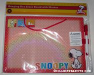 Snoopy walking Dry Erase Board