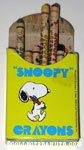 Snoopy box of 24 Crayons - Yellow