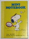 Snoopy playing Tennis Notebook