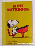 Snoopy at Desk Notebook
