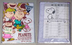 Peanuts Gang Identification and Important Number Card
