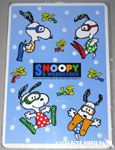 Snoopy & Woodstock Scuba Divers Multiplication Table Card