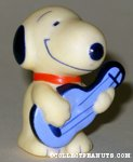 Snoopy playing guitar Figure