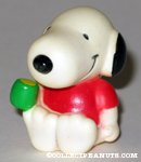 Snoopy holding cup Figure