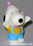 Snoopy wearing party hat Figure