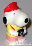 Snoopy holding camera Figure