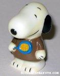 Snoopy holding tennis racket Figure