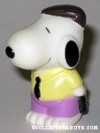 Snoopy holding briefcase Figure