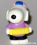 Snoopy playing Accordion Figure