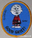 Charlie Brown - Good Grief Patch