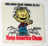 Pigpen waving Patch