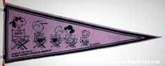 Peanuts Gang 'The Stars of the Movie A Boy Named Charlie Brown' Pennant