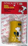 Snoopy Dog Food Can Squeaky Toy
