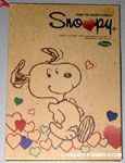 Snoopy dancing with hearts Diary