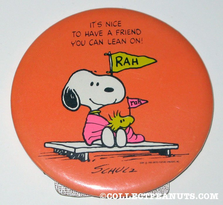 There Are A Couple Of Different Versions Of This, Some With Charlie Brown  And Snoopy, One With Linus And Snoopy, And One With Woodstock And Snoopy.