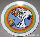 Snoopy & Woodstock Pawpets Melamine Plate