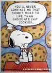 Snoopy eating Cookies