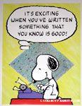 Snoopy typewriter