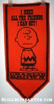 Charlie Brown 'I need all the friends I can get' Pennant
