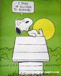 Peanuts & Snoopy Posters