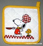 Snoopy Chef and Woodstock