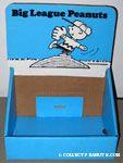 Big League Peanuts Book Display Box