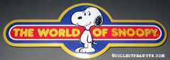 World of Wonders World of Snoopy display piece