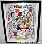 Peanuts gang dancing 'A Celebration' poster