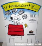 'Snoopy & Woodstock with doghouse Duracell Display