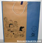Peanuts Gang Dancing Sogo Shopping Bag