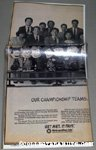Peanuts Baseball Championship Metlife Team Newspaper Ad