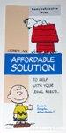 Snoopy & Charlie Brown Affordable Solutions Metlife Brochure