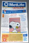 Baby Snoopy Metlife Outlook Newletter