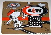 Peanuts & Snoopy A&W Root Beer