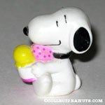 Snoopy eating ice cream Baskin Robbins Giveaway