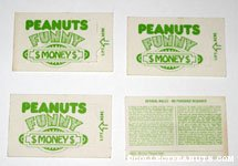 Peanuts Funny Money