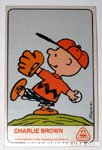 Charlie Brown Dolly Madison Baseball Card