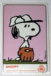 Snoopy Dolly Madison Baseball Card