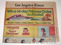 L.A. Times January 7, 1979 Comics Section