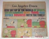 L.A. Times July 19, 1981 Comics Section